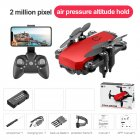 LF606 Mini Drone with Camera Altitude Hold RC Drones with Camera HD Wifi FPV Quadcopter Dron RC Helicopter 2M
