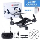 LF609 Wifi FPV RC Drone Quadcopter with 0.3MP/2.0MP Camera  Black 30W