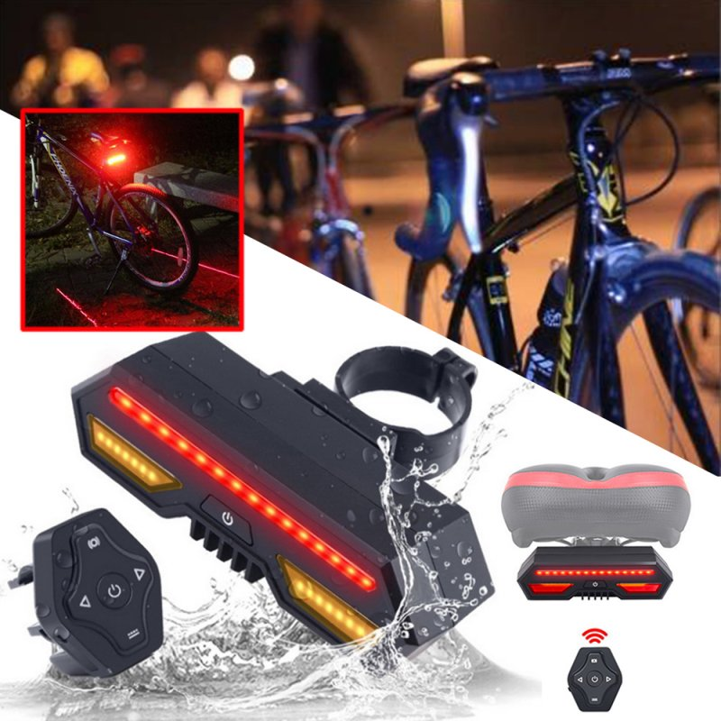 LP-1801 Lamp Smart Bicycle Rear Tail Light