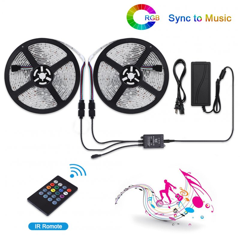 LUNSY RF Remote Control LED Strip Light Set