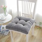 Large Size Thicken Corduroy Surface Solid Color Chair Cushion