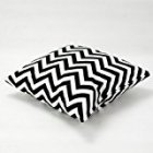 Cotton Canvas Square Throw Pillow Cover