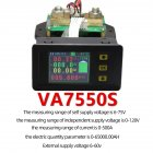 Lcd Combo Meter Voltage Current Kwh Watt  Meter 12v 24v 48v 96v Battery Capacity Power Monitoring 1.8inch 100a