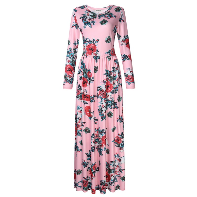 Leadingstar Women Floral Print Boho Dresses