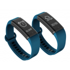 Lenovo HX03 fitness band is a stylish fitness tracker that features a heart rate monitor  pedometer  and sleep monitor
