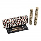 Leopard Velvet Dense Lengthening Mascara 3D Uniqued Fiber Lashes Waterproof Transplanting Gel Boxed