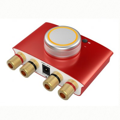 Lepy-168mini 100W Amplifier Red US Plug