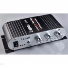Lepy Lp-808 80812V MINI Car Amplifier Audio Accessories Power Amplifier black_Packing specification: 11*16*4.3cm