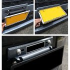 License Plate Frames Universal Adjustable Tail Light Bracket Mount License Plate Holder