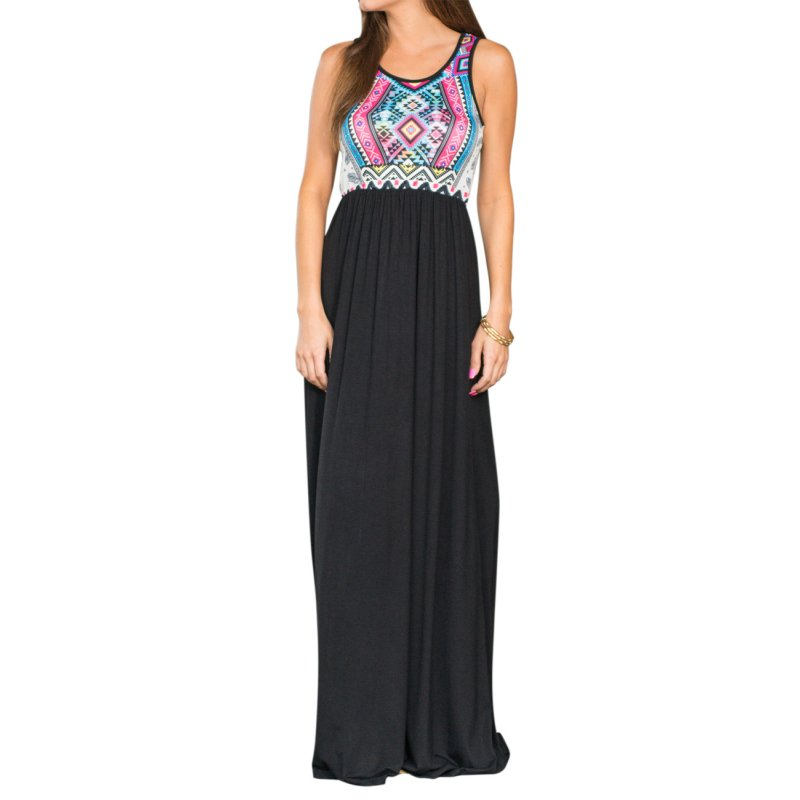 Liebeye Women Sleeveless Dress