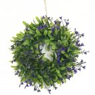 Lifelike Artificial Wreath Flowers Decoration