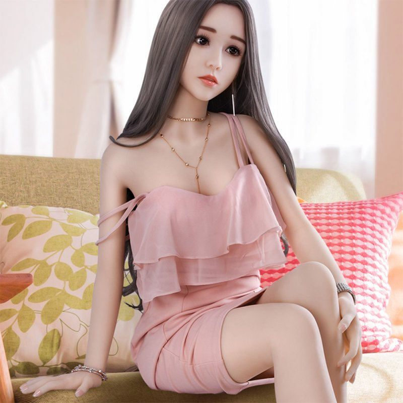Lifelike Real Sex Doll with Skeleton Love Doll Vagina Real Pussy Life Size Sexy Doll 130cm (23kg)