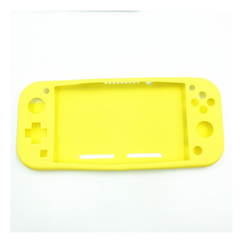 Lightweight Durable Silicone Protective Shell Case Cover for Switch Lite Host yellow