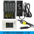 LiitoKala Lii-600 LCD Battery Charger for 26650 21700 18650 18350 20650 14500 AA AAA