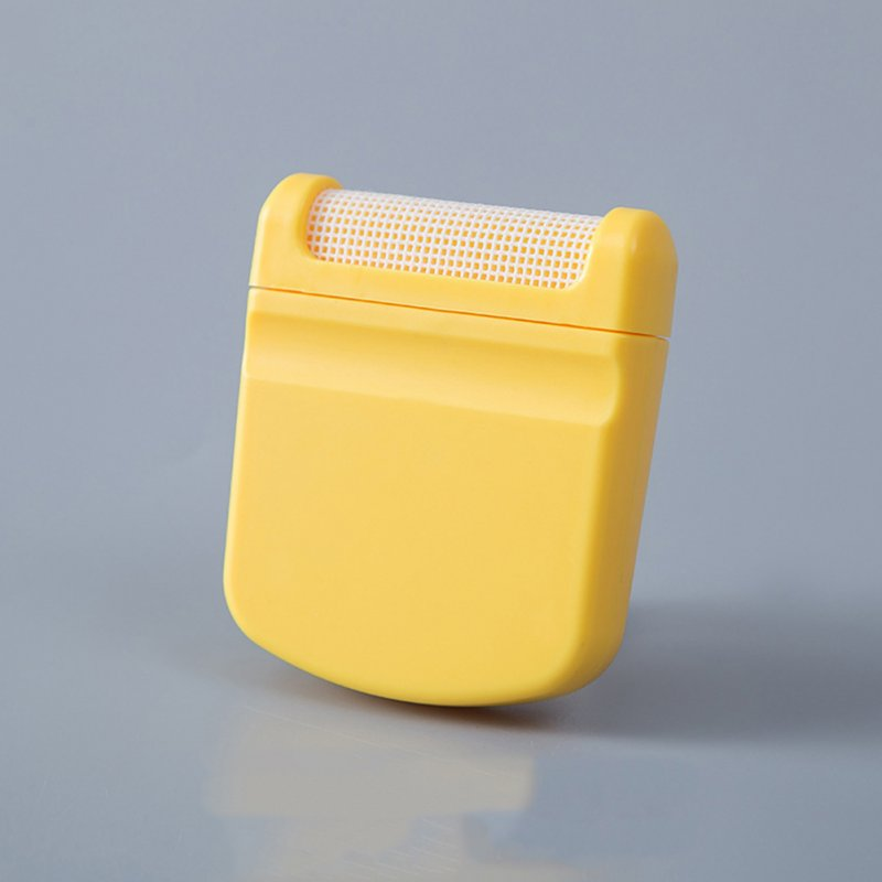 Lint Clothes Sweater Shaver Fluff Fuzz Portable Remover Pill Handheld Remover Single head - yellow