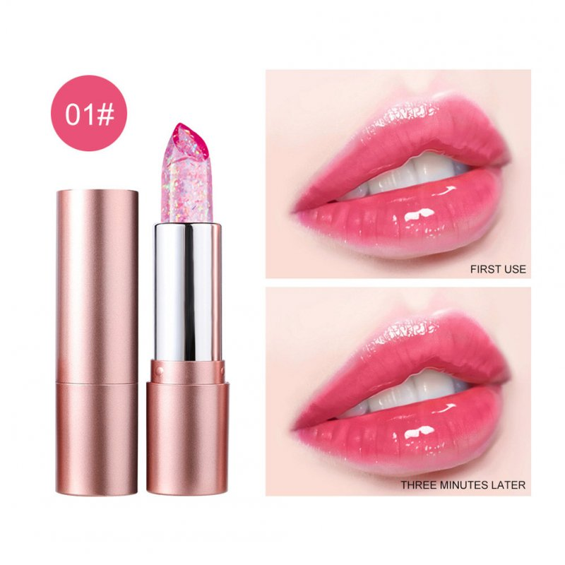 Lip Balm Non-fading Non-stick Cup Moisturizing Color Changing Lipstick Number1