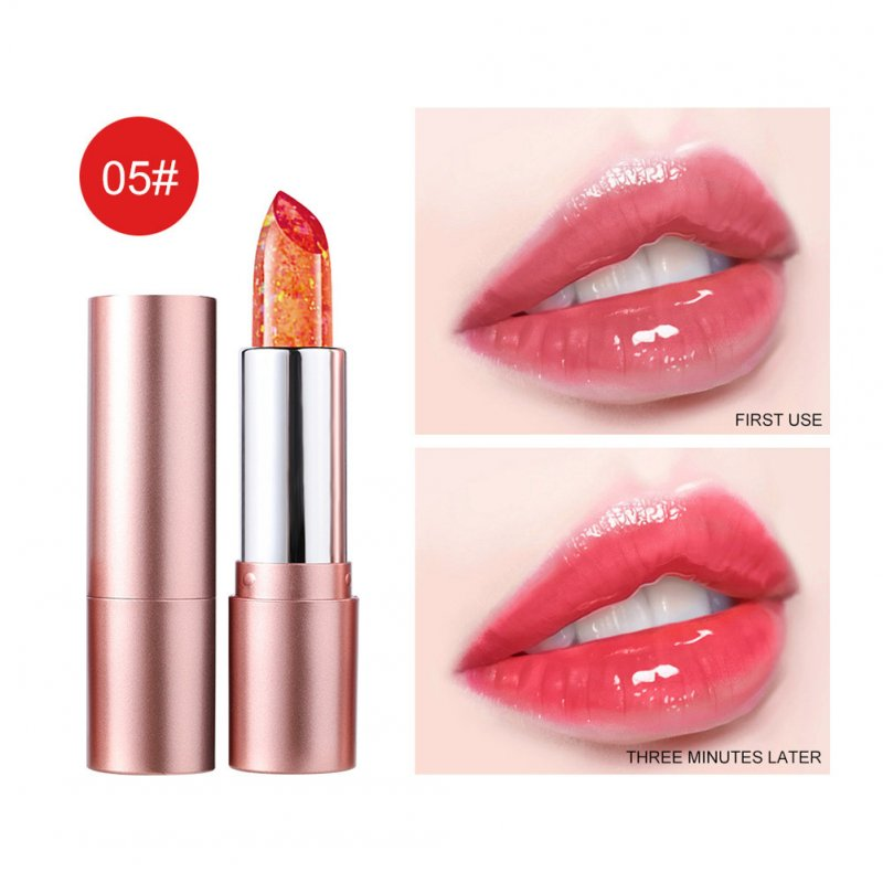 Lip Balm Non-fading Non-stick Cup Moisturizing Color Changing Lipstick Number 5
