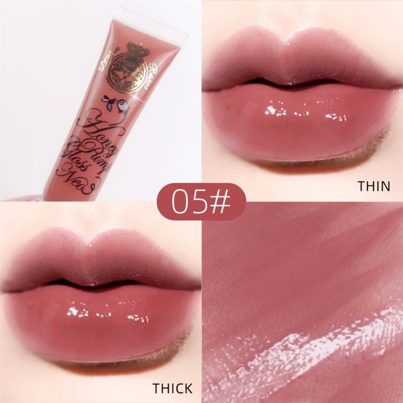 Lip Glaze Transparent Moisturizing Hydrating Lip Gloss Lip Glaze Lip Oil