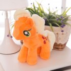 Little Pony Rainbow Plush Soft Kids Hug Stuff Toy 20cm Toy Doll Gift Orange