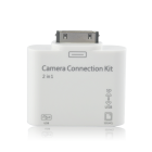 Loading up videos and pictures to your Apple iPad and iPad 2 is now easier than ever with the iPad Camera Connection Kit and SD Card Reader