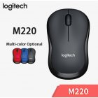 Logitech M220 Wireless Mouse Silent Mouse with 2.4GHz High-Quality Optical Ergonomic PC Gaming Mouse for Mac OS/Window 10/8/7 Grey M220 mute