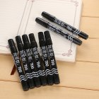 Long Lasting Classic Plastic Oily Waterproof Permanent Marker Pen