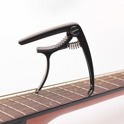 Longteam Acoustic Guitar Capo Guitar Part Accessories Instrument  black_Guitar & Ukulele Universal