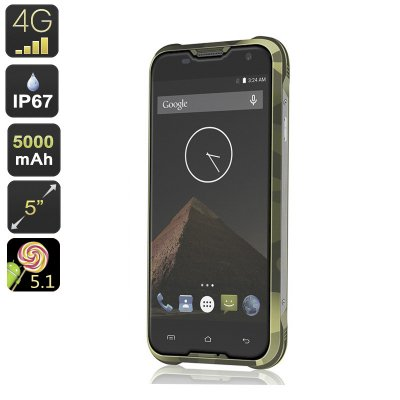 Blackview BV5000 Smartphone (Green)