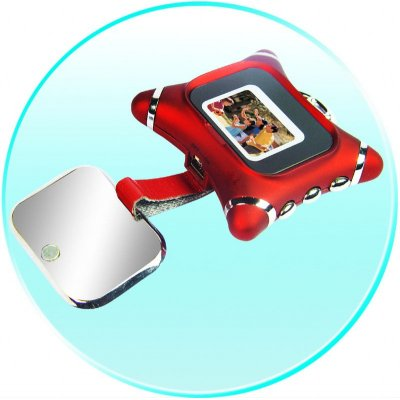 0.8-inch CSTN LCD Digital Photo Frame - Built-in 2MB Memory