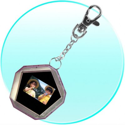 1.1 Inch Digital Photo Frame - Multi Format Display