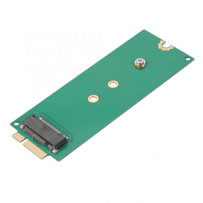 M.2 NGFF SSD Adapter for MACBOOK PRO 2012 A1425 A1398 SSD Converter Adapter Card green