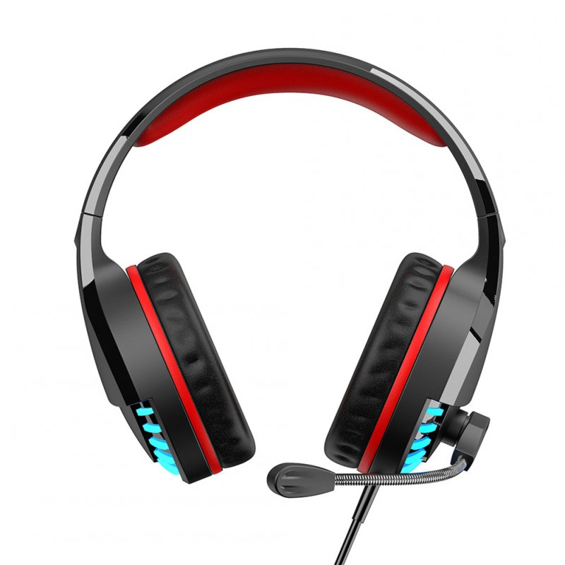 M18 Gaming Headset 3.5mm Colorful Gloss +USB Stereo Headset with Microphone for Laptop/PC Tablet  color