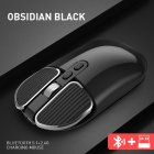 M203 Computer Mouse Wireless Bluetooth Silent Mouse for Desktop Laptop black