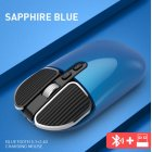 M203 Computer Mouse Wireless Bluetooth Silent Mouse for Desktop Laptop blue