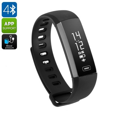 Fitness Tracker Bracelet M2S (Black)