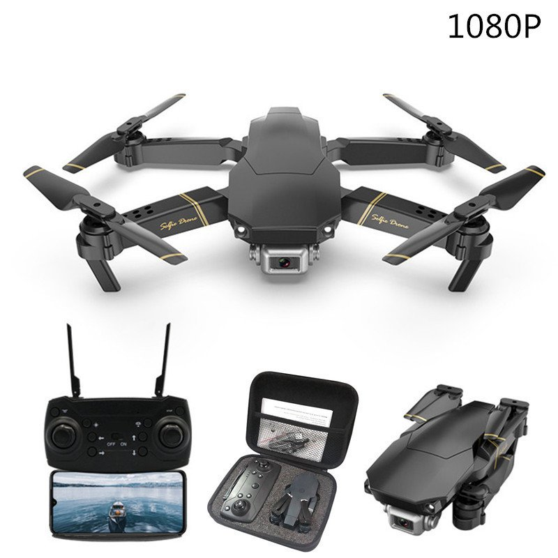 M65 GD89 RC Drone with 4K/1080P HD Camera FPV WIFI Altitude Hold Selife Drone Folding RC Quadcopter 1080P 2 battery