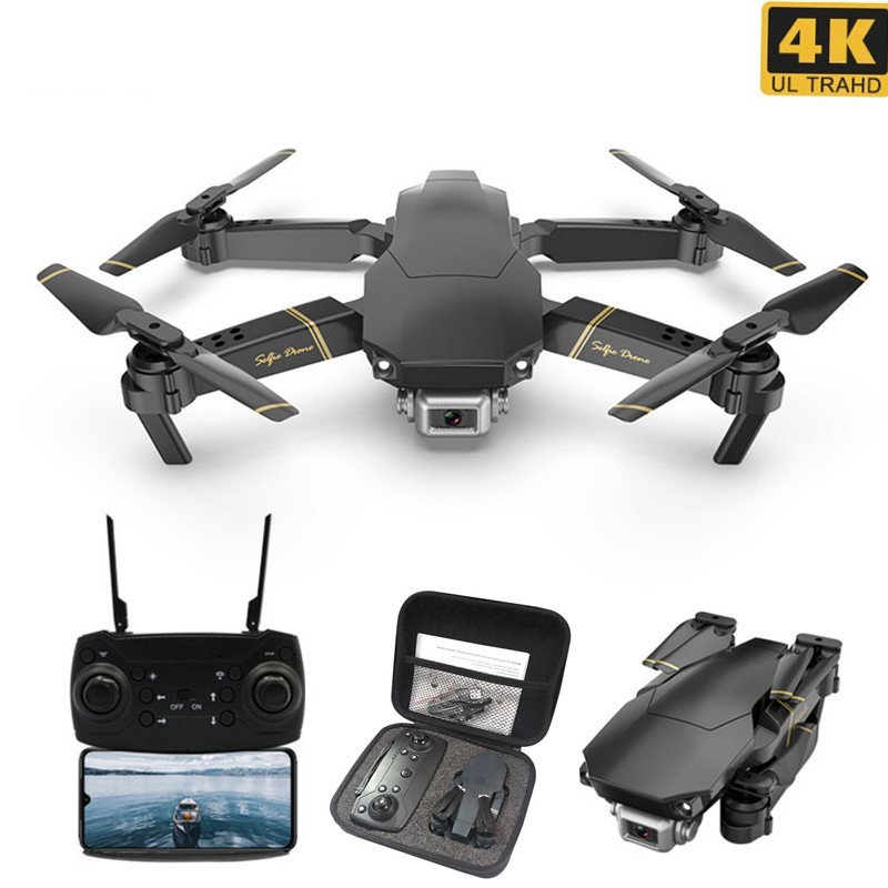 M65 GD89 RC Drone with 4K/1080P HD Camera FPV WIFI Altitude Hold Selife Drone Folding RC Quadcopter 4K 1 battery