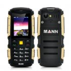 MANN ZUG S Rugged 2 Inch Display Phone has an IP67 Waterproof   Dust Proof Rating while also being Shockproof and having a 2570mAh Battery