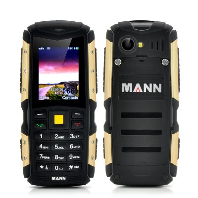 MANN ZUG S Rugged Phone (Gold)
