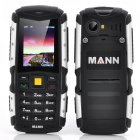 MANN ZUG S Rugged Phone has a 2 Inch Display  IP67 Waterproof   Dust Proof Rating  Shockproof and a large 2570mAh Battery
