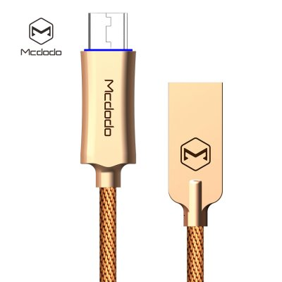 MCDODO Knight Series QC 3.0 USB Cable Gold