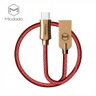 MCDODO Knight Series 1.5M Type-C Cable Red
