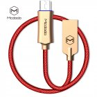 MCDODO Knight Series Auto Disconnect QC 3 0 Quick Charge Micro USB Cable Red 1 5M