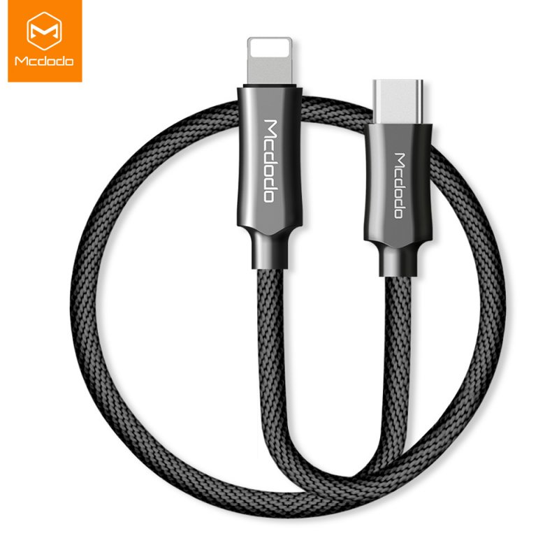 Knight Series 8-pin Cable Quick Charging Cable for iPhone X 8 Plus iPhone XS MAX XR - 1.2m, Black