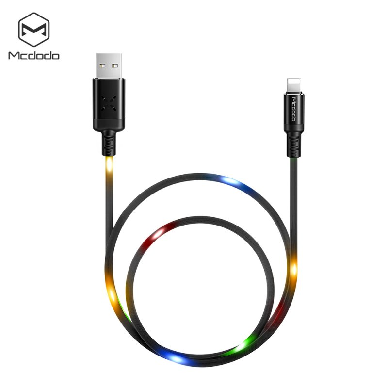 MCDODO X Series Lightning Cable Black