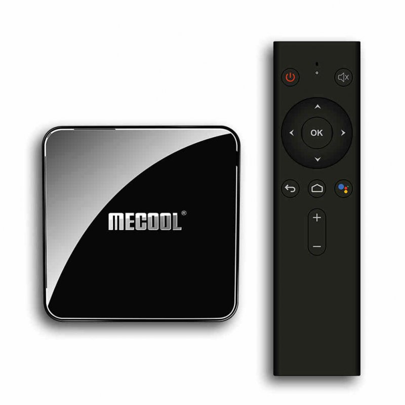 MECOOL KM3 ATV TV Box Black US Plug