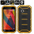 MFOX A11 Pro IP68 Rugged smartphone is compliant to MIL STD 810G standards and its 5 inch FHD  display  octa core CPU and 3GB RAM bring you power and durability