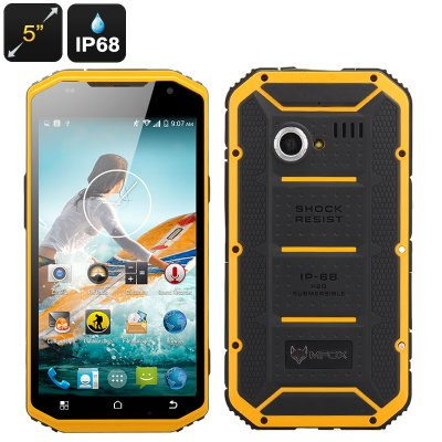 MFOX A6 Military Smartphone (Yellow)