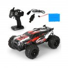 MGRC Climbing Electric Remote Control Car 1:14 Off-road High Speed Racing Toy High Speed Athletic Racing (Red) MG30