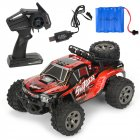 MGRC Mini RC Car 1/18 2.4G 4CH 2WD High Speed 20KM/h Brush Crawler Remote Controller Car Kids Toys red